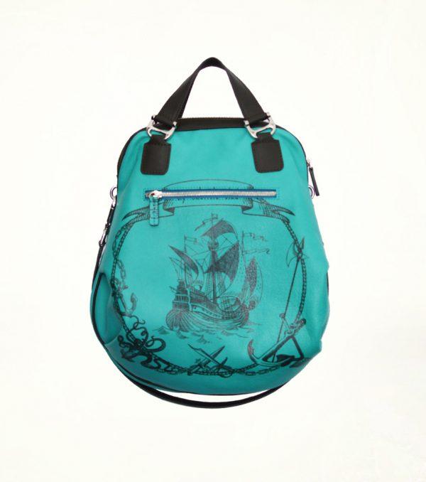Gabriela_Vlad_Bags_Bags_Bags_Blue_Leather_Ship_1