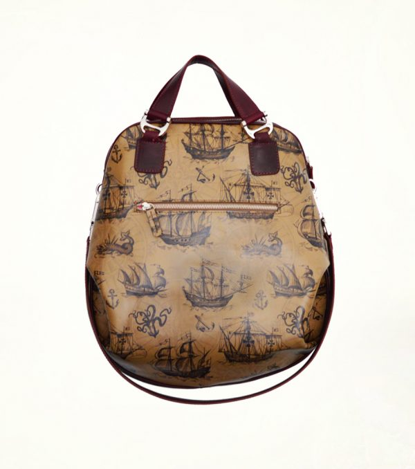 Gabriela_Vlad_Bags_Bags_Bags_Brown_Leather_Ship_Pattern_1