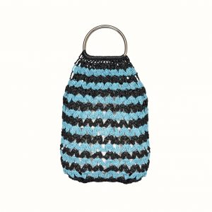 Bag_rafia_Crochet_with_handle_in metal