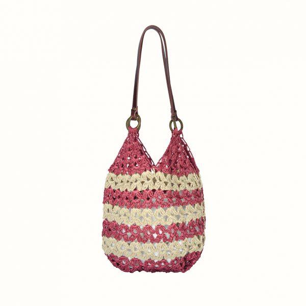 1_Shopping_in_rafia_Crochet_with_handle_in_leather_col_Bordo_Gabriela_Vlad