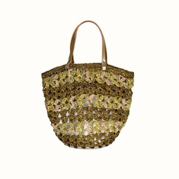 1_Small_shopping_in_rafia_Crochet_with_handle_in_leather_col_Gold_Gabriela_Vlad