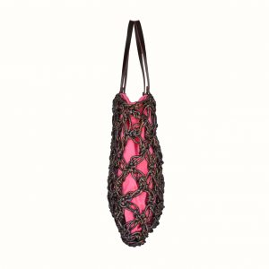 Shopping_in_Lurex_col_Multicolor _Crochet_handle_in_leather_col_Bordo
