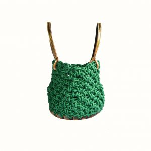 Small_basket_Lurex_thread_Crochet_with_handle_in_leather_bicolor_Black_Gold